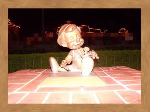 プラザガーデン内のピノキオ